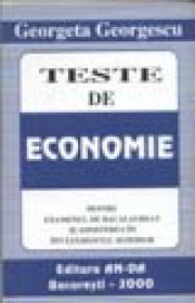 Teste de economie - Georgeta Georgescu