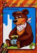 Ursul - Carte de colorat cu abtibilduri - ***
