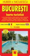 Bucuresti. Harta turistica - HUBER-NICULESCU