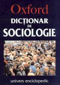 Dictionar de sociologie - Oxford
