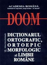 Dictionarul Ortografic, Ortoepic si Morfologic al Limbii Romane - Academia Romana
