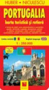 Harta Portugaliei - turistica si rutiera (Cod 8654) - HUBER NICULESCU