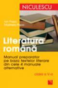 Literatura romana. Manual preparator pentru clasa a V-a - Ioan Popa, Marilena Popa