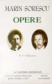 Opere. Volumul IV - V - Marin Sorescu