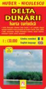 Delta Dunarii - Harta turistica si rutiera - HUBER-NICULESCU
