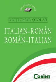 Dictionar scolar italian-roman, roman-italian  -