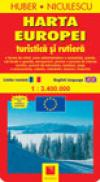 Harta Europei - Turistica si rutiera - HUBER - NICULESCU