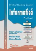 Informatica - manual pentru clasa a IX-a  - Mioara Gheorghe (coord.)