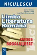 Limba si literatura romana. Sinteze bacalaureat - Dorica Boltasu, Mioara Coltea, Ana-Maria Chemencedji