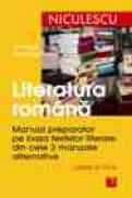 Literatura romana. Manual preparator pentru clasa a VI-a - Ion Popa, Marinela Popa