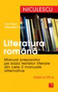 Literatura romana. Manual preparator pentru clasa a VII-a - Ioan Popa, Marinela Popa