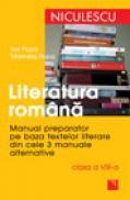 Literatura romana. Manual preparator pentru clasa a VIII-a - Ioan Popa, Marinela Popa