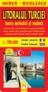 Litoralul Turciei. Harta turistica si rutiera - HUBER-NICULESCU