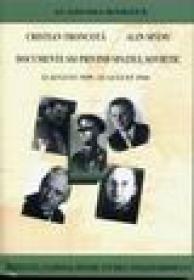 Documente SSI privind spatiul sovietic 22 august 1939 - 23 august 1944 -