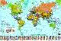 Harta politica a lumii (scara 1:60.000.000) -