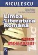 Limba si literatura romana-sinteze bacalaureat - Mioara Coltea, Dorica Boltasu, Ana Maria Chemencedji