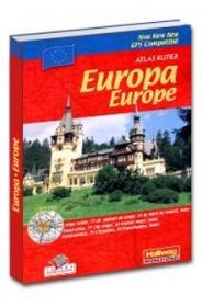 Atlas rutier Europa -
