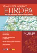 Atlas rutier compact Europa - Istituto Geografico De AGOSTINI