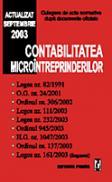 Contabilitatea microintreprinderilor - Culegere de acte normative