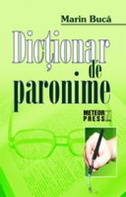 Dictionar de paronime -  Marin Buca