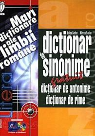 Dictionar de sinonime. Dictionar de antonime. Dictionar de rime (CD-ROM) - Luiza Seche
