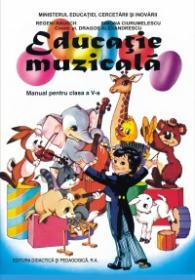 Educatie muzicala V - Regeni Rausch , Simona Ciurumelescu , coord. st. Dragos Alexandrescu