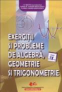 Exercitii si probleme de algebra, geometrie si trigonometrie cls. a IX-a - Maftei (coordonator) I.V. , Toader-Radulescu Ioana M. , Toader-Radulescu Florin