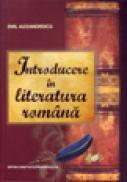 Introducere in literatura romana - Alexandrescu Emil