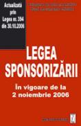 Legea sponsorizarii - Culegere de acte normative
