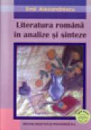 Literatura Romana in analize si sinteze - Alexandrescu Emil