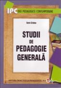 Studii de pedagogie generala - Cristea Sorin