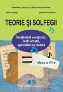 Teorie si solfegii clasa a VII a - Valentin Gabrielescu , Matei Jurebita