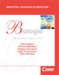 Biologie / Cristescu - Manual pentru cls. a XI-a  - D. Cristescu, C. Salavastru, B. Voiculescu