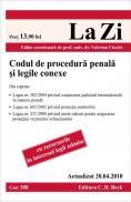 Codul de procedura penala si legile conexe (actualizat la 20.04.2010). Cod 388 - Editie coordonata de prof. univ. dr. Valerian Cioclei