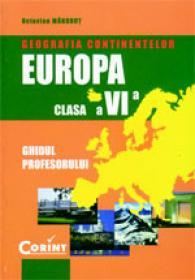 Geografia continentelor-Europa. manual cls. a VI-a  - Octavian Mandrut, Silviu Negut