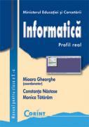 Informatica / profil real - cls. a X-a  - Mioara Gheorghe (coord.)