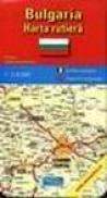 Bulgaria - harta turistica -