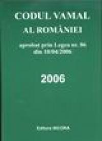 Codul vamal al Romaniei - Ed Nicora