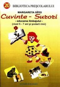 Cuvinte - Surori (educarea limbajului nivel 5-7 ani si scolarii mici) - Margareta Gifei