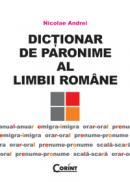 Dictionar de paronime al limbii romane  - Nicolae Andrei