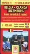Harta Benelux -