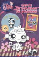 Littlest pet shop. Carte de colorat cu postere - ***