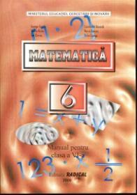 Matematica - Manual pentru clasa a VI-a - George Turcitu, Constantin Basarab, Ionica Rizea, Maria Duncea, Ion Chiriac, Petre Ciungu