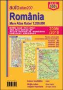 Romania. Mare Atlas Rutier - ***