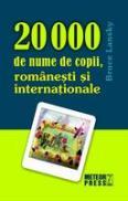 20 000 de nume de copii, romanesti si internationale -  Bruce Lansky