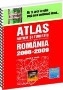 Atlas rutier si turistic Romania 2009 - 2010 -