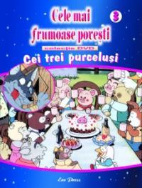 Cele mai frumoase povesti - DVD nr. 3 - Cei 3 purcelusi - In colaborare cu Istituto Geografico De Agostini