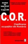 Clasificarea ocupatiilor din Romania - Culegere de acte normative
