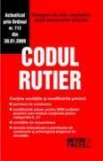 Codul Rutier 2009 - Culegere de acte normative