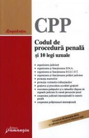 Codul de procedura penala si 10 legi uzuale - ***
